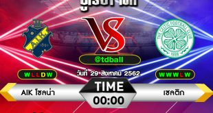 tdball-AIK Solna vs Celtic