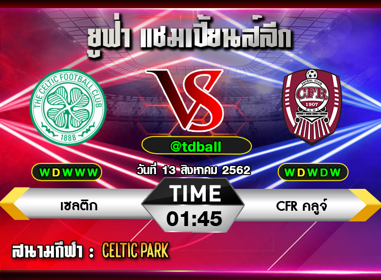 tdball-Celtic vs CFRCluj