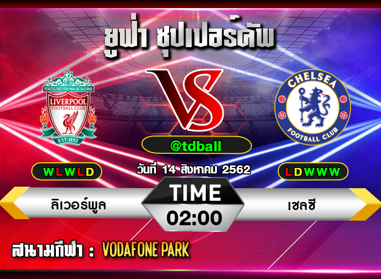 tdball-Liverpool vs Chelsea2019