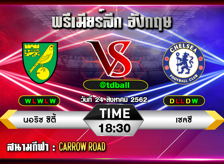 tdball-Norwich vs Chelsea